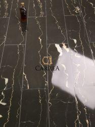 gres z białą żyłką baldocer portoro negro 20x114