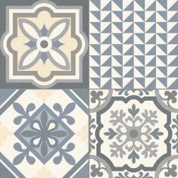 szare płytki patchwork gayafores Heritage GREY