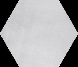 płytki scienne podłogowe hexagonalne szare STARKHEX Argent geotiles