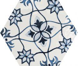 hexagon płytki patchowork kafelki ścienne 17,5x20 połytsk nowoczesna łazienka salon kuchnia