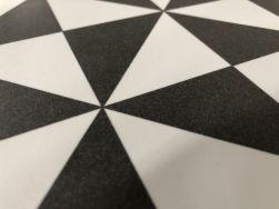 płytki w geometryczne wzory Terrades Grafito 20x20 Vives