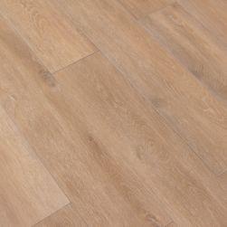Kompozycja podłogowa stworzona z drewnopodobnych płytek jasnobrązowych Viggo Arce 20x120