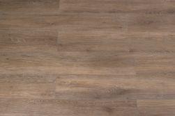 Kompozycja ułożona z płytek podłogowych gresowych drewnopodobnych brązowych Viggo Roble 20x120