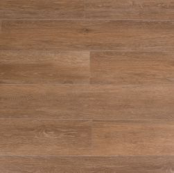 Kompozycja ułożona z brązowych płytek drewnopodobnych Viggo Fresno 20x120