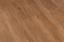 Kompozycja podłogowa z płytek imitujących drewno brązowych Viggo Fresno 20x120