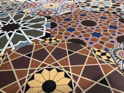 płytki heksagonalne patchwork kolorowe Realonda Andalusi 33x28,5