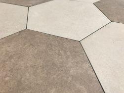 heksagon w ciepłych barwach na podłogę Hexagon Multi Warm Argenta