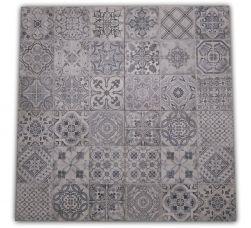 widok całej płytki ceramicznej w stylu patchwork Manises geotiles 60x60