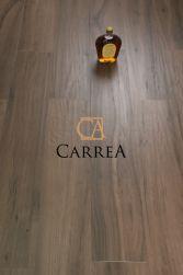 ciemna podłoga w kolorze drewna wengue Milena Nogal 20x120