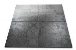 szary patchwork lapatto Utica Perla 60x60 Pamesa