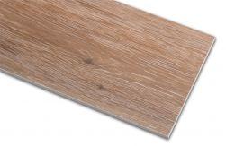 Płytka imitująca drewno brązowa Viggo Nogal 20x75 zbliżenie na detale