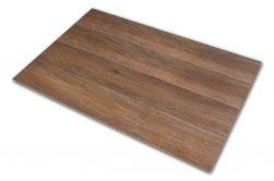 Płytka podłogowa drewnopodobna brązowa Viggo Nogal 20x75 cztery sztuki