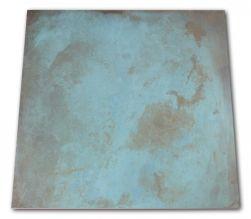 Płytka metalizowana turkusowa z brązowymi smugami Trace Mint 60x60