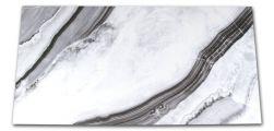 Płytka imitująca marmur biało-czarna At.Shu Mate 60x120