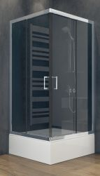 Besco kabina prysznicowa kwadratowa 80x80x165