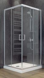 besco kabina prysznicowa kwadratowa 90x90x185