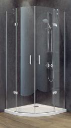 Besco kabina prysznicowa półokrągła  80x80x195
