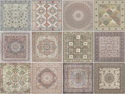 płytki jak dywan kilim dekoracyjne do łazienki i salonu Kilim Nain Pulido