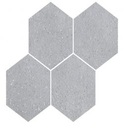 Roca płytka na ściane heksagon szary 30x30