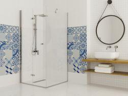 łazienka Kabina prysznicowa ze ścianką Montero 100x100