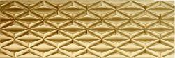 pAparici Neutral Gold Rhombus 29,75x89,46 złote połysk ścienne 30x90