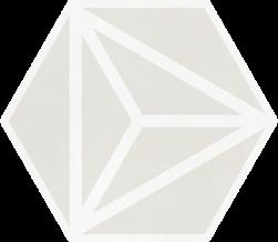 Varadero Moonlight 19,8x22,8 płytka heksagonalna