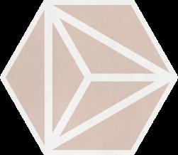 Varadero Rose 19,8x22,8 płytka heksagonalna