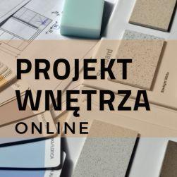 Projektowanie wnętrz online, zdalnie