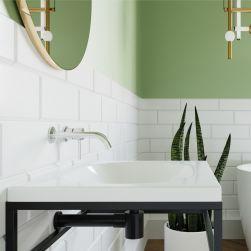 łazienka z Umywalka wpuszczana RAJA biała 50cm
