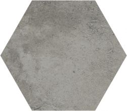 płytki ścienne podłogowe nowoczesny styl hexagonalne Recover Grey Hexagon Aparici