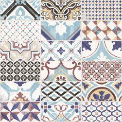Aparici płytka na podłoge 60x60 płytka ze wzorem patchwork