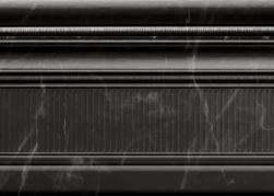 cokół ceramiczny przypodłogowy czarny Aparici Site Negro Zocalo 18x25,1