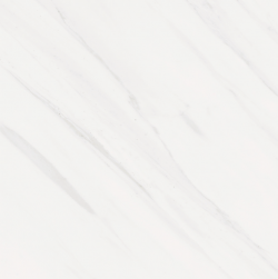 biały marmurek z delikatną smugą Tasos 60x60 Baldocer