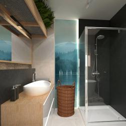 łazienka Zestaw prysznicowy BLU