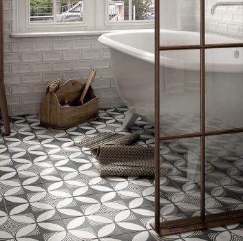 Equipe łazienka płytki patchwork