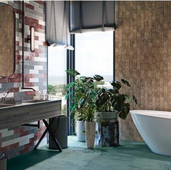 10 pomysłów na aranżację ścian i podłogi w łazience