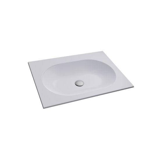 Umywalka wpuszczana RAJA biała 50cm