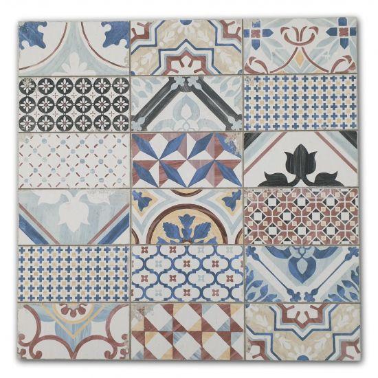 Aparici Sao Luis Mix Natural 59,2x59,2 płytki patchwork kolorowy