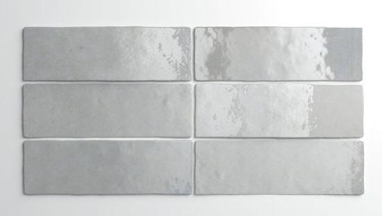 Equipe szare kafelki na ściane 6,5x20 szare płytki na ścianę