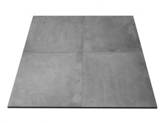 płytki betonopodobne szare Icon Silver 60x60 Abitare