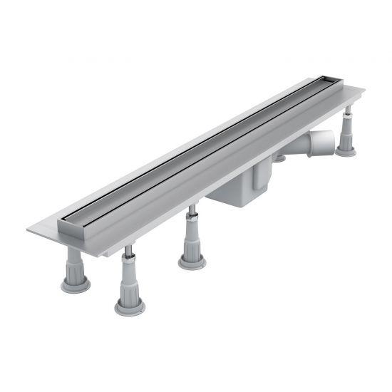 Line odpływ prysznicowy 80 cm liniowy nikiel LINE80IN