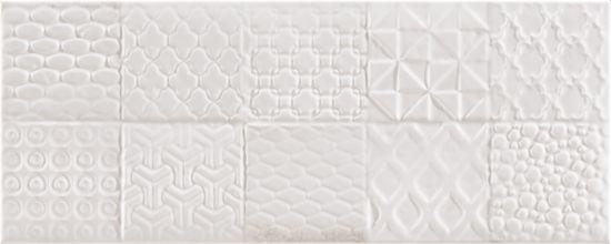 Argenta białe kafelki na ściane kafelki dekoracyjne 20x50