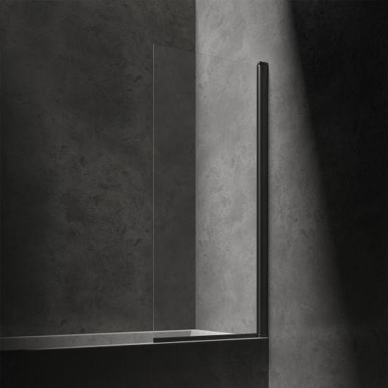 Kingston parawan nawannowy 70 cm profil czarny mat/szkło przezroczyste XHE85BLTR