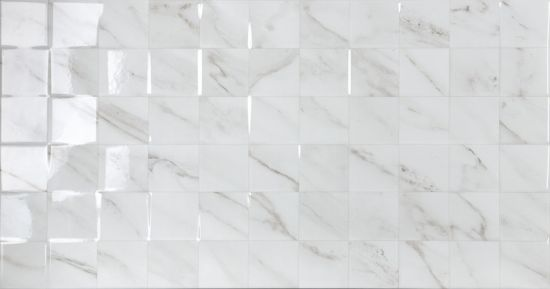 płytki mozaika marmurek 31,6x60 RLV Agora Blanco geotiles