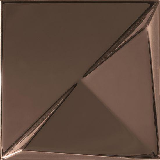 płytki brąz dekor 15x15 Aleatory Copper Mat/Połysk 3 15x15 Alea