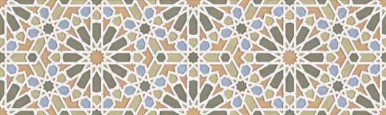 aparici płytka ścienna płytka dekoracyjna płytka rektyfikowana gres alhambra patchwork Alhambra Green Mexuar aparici