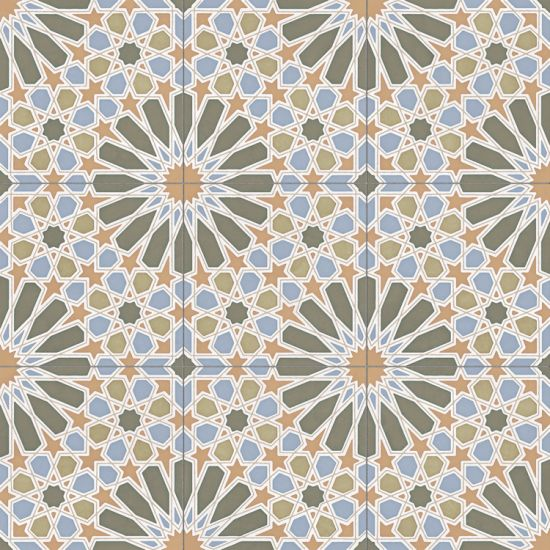 płytka ścienna płytka podłogowa płytka rektyfikowana patchwork płytki płytka do łazienki kuchni salonu 60x60 Alhambra Green Natural aparici