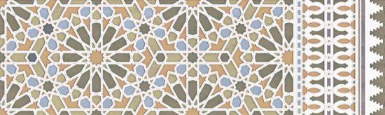 płytka ścienna płytka rektyfikowana gres aparici alhambra wall Alhambra Green Rauda aparici