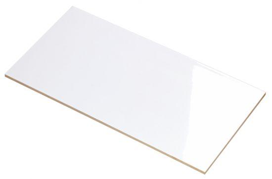 płytki gresowe 30x60 rektyfikowane Blanco Brillo baldocer