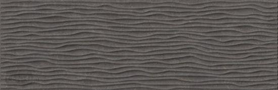 Emigres czarne płytki na ściane ze strkutra 30x90 płytki czarne rektyfikowane matowe